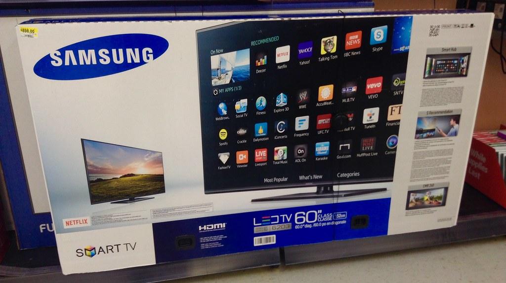 Samsung LED Smart TV, 60\