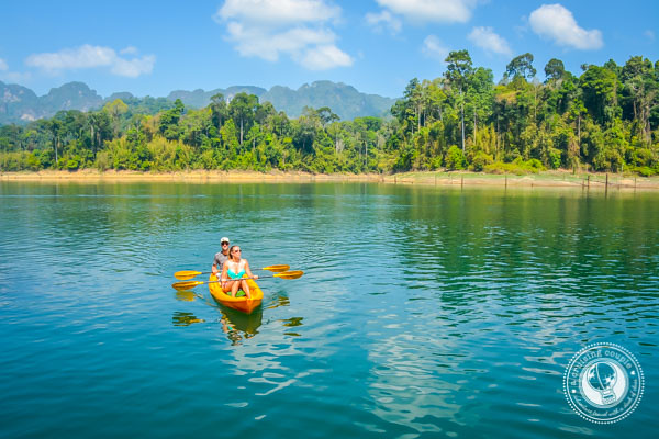 Kayaking in Thailand Elephant Hills
