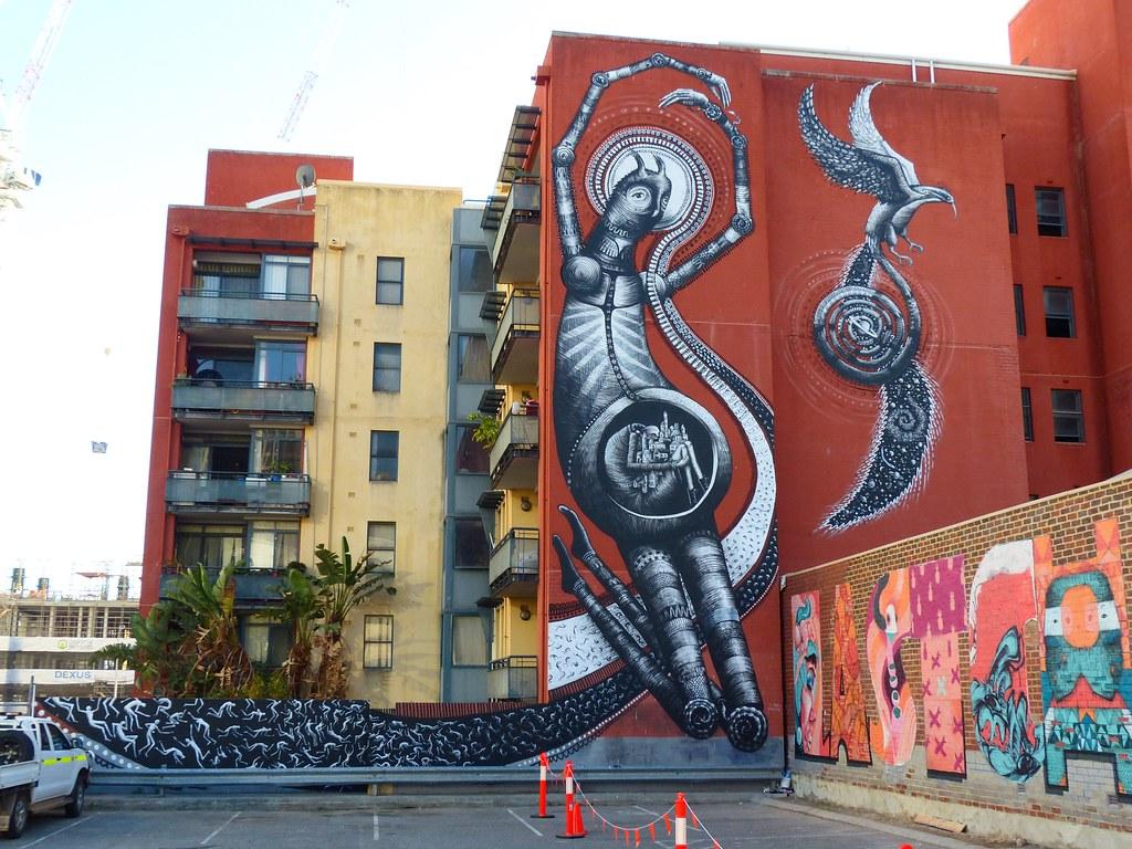 Australia perth phlegm graffiti street art murray street car park
