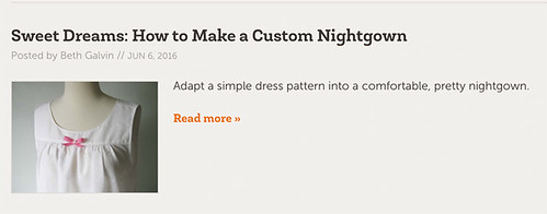 nightgown craftsy post image