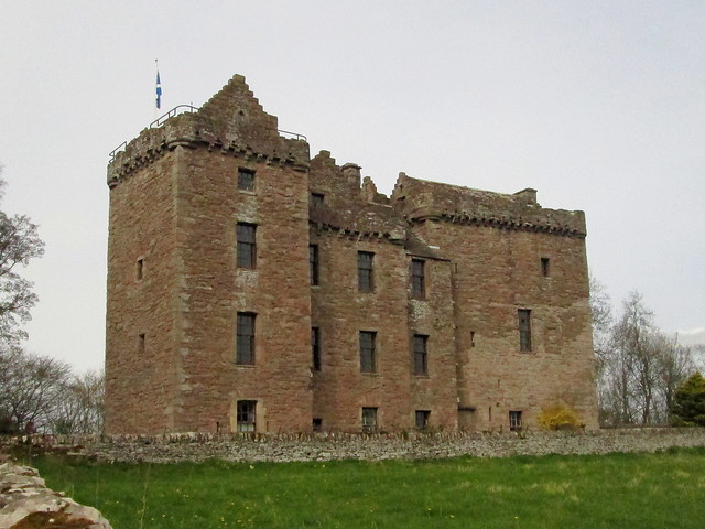 Huntingtower from south