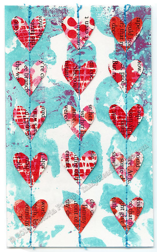 """Heart Garland"" ICAD : 7-5-13 