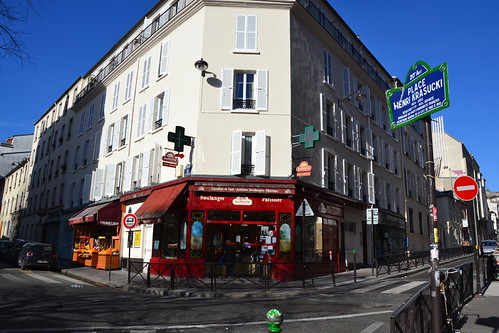 Place Henri Krasucki, Paris XXe