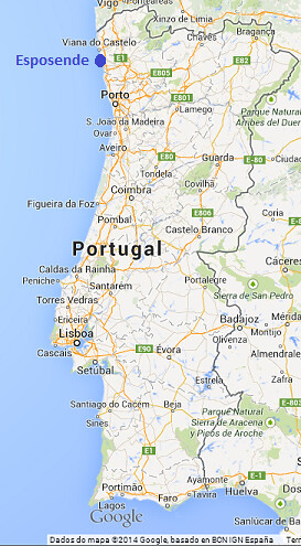 esposende mapa portugal Mapa Portugal   Esposende | ADOC/AXL | Flickr esposende mapa portugal