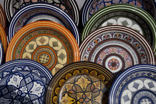 Safi earthenware pottery | by dirk huijssoon