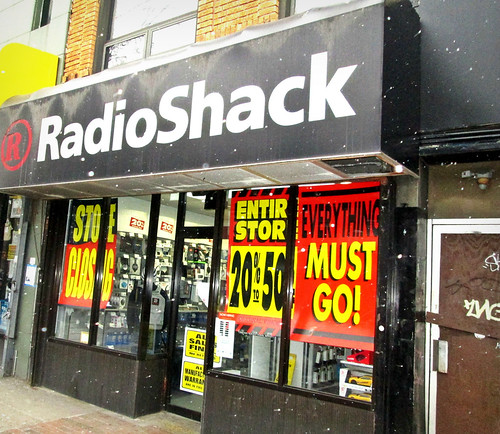 "RadioShack Closing ""Everything Must Go"""