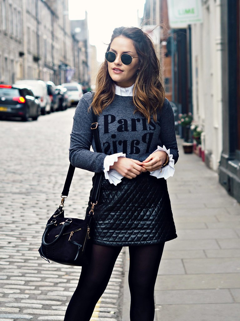 The Little Magpie Topshop Paris Jumper 4