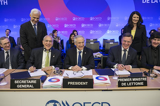 OECD 2016 Week: Signature of the Accession  Agreement with Latvia