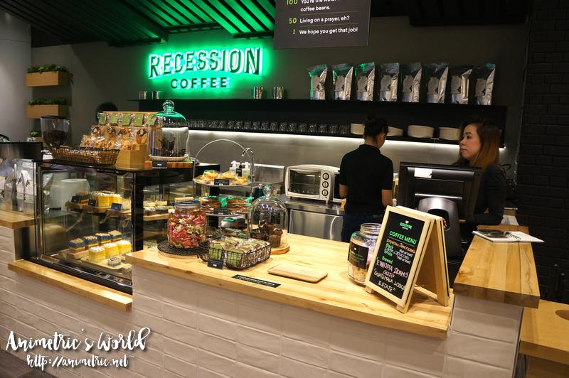 Recession Coffee by Digital Walker