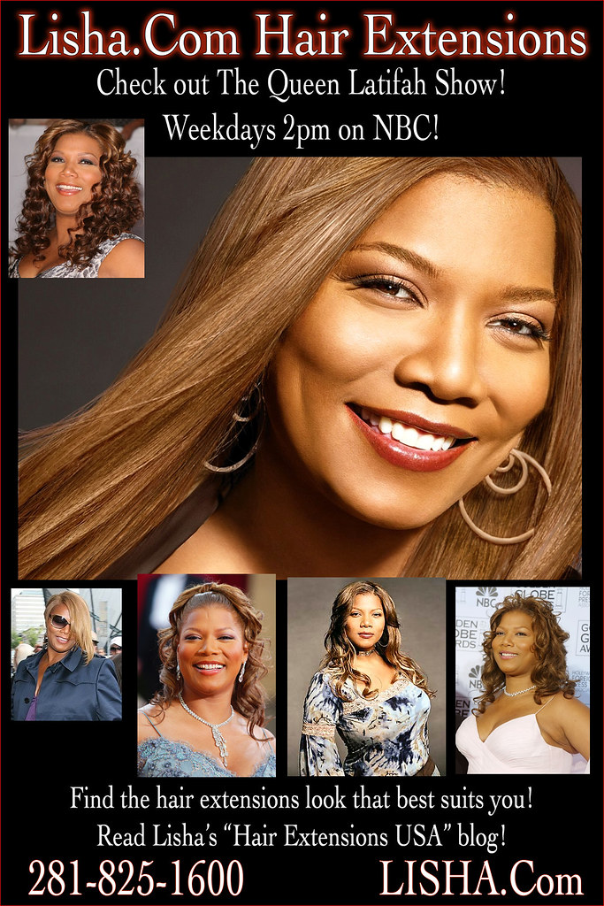Queen Latifah Hair Extensions Find The Right Color Of Hair Flickr