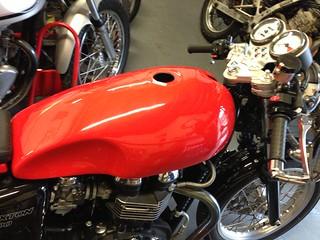 Cafe Racer Tank For Yamaha Xs