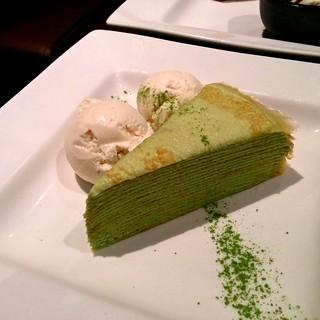 how to make lady m green tea crepe cake
