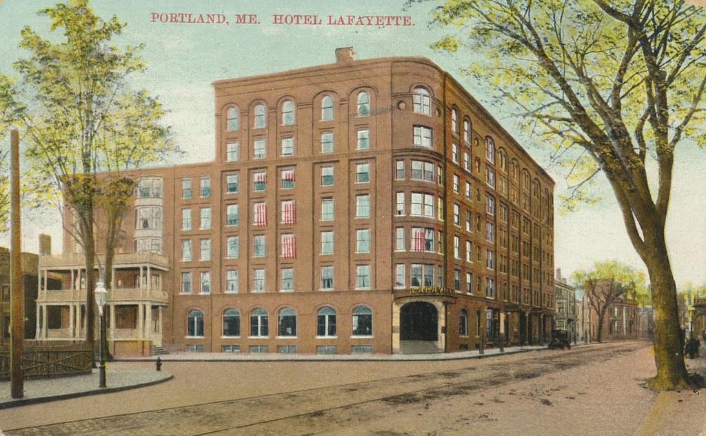 Hotel Lafayette - Portland, Maine