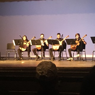 Classen SAS Guitar Concert Quartet | by Wesley Fryer