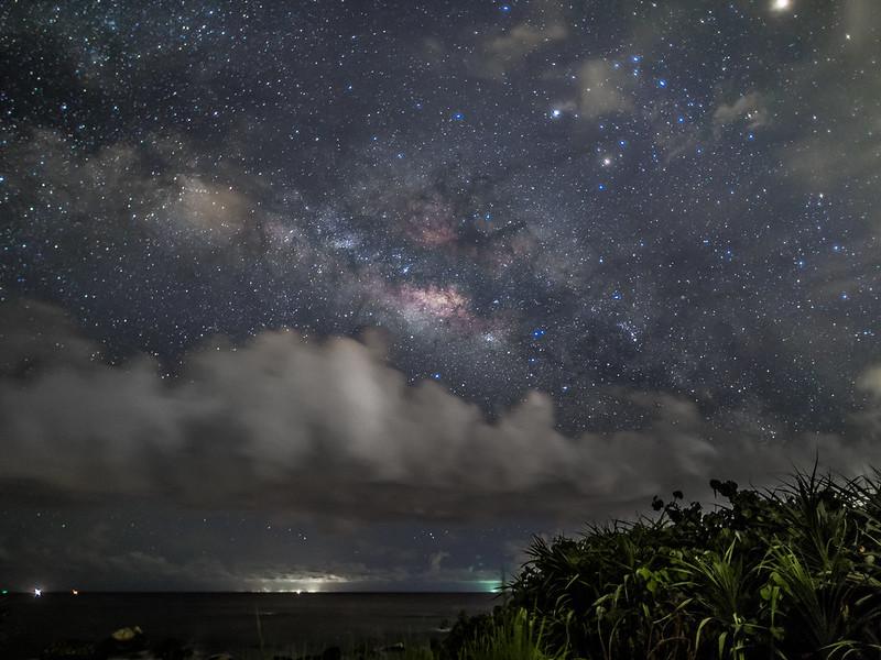 Photo représentant la voie lactée