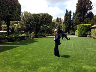 Secretary Kerry Enjoys a Moment of Solitude | by U.S. Department of State