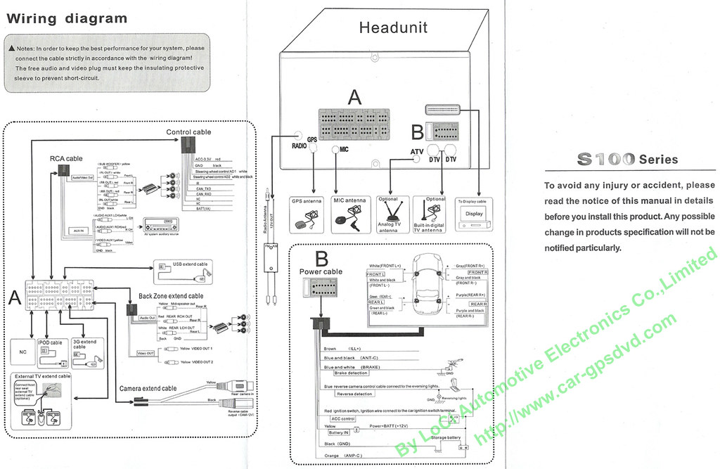 winca s100 wiring diagram winca car multimedia dvd player \u2026 flickr Overhead Car DVD Player Wiring-Diagram winca s100 wiring diagram by car gpsdvd com