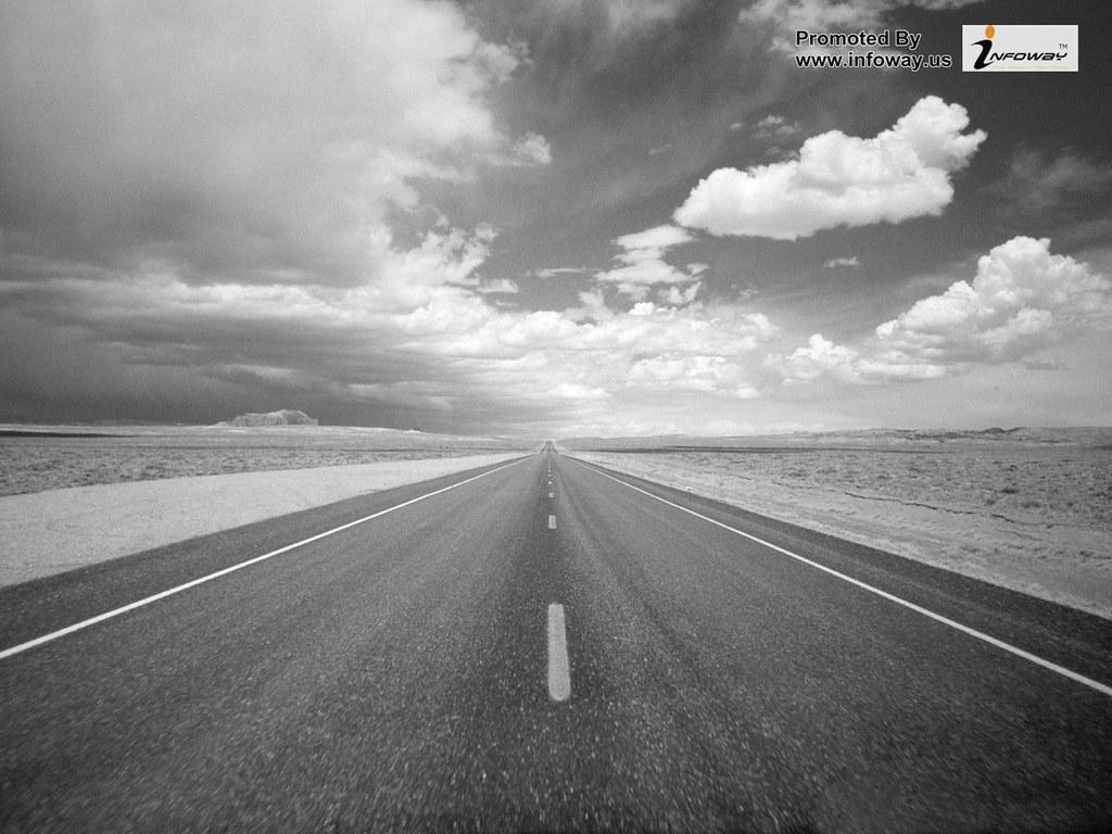 Hd Wallpapers Road Wallpaper Desert