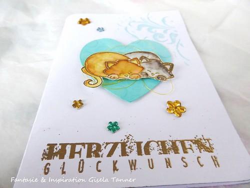 Hochzeitskarte - Weddingcard