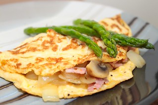 Asparagus Omelette | by Coffee Muffins