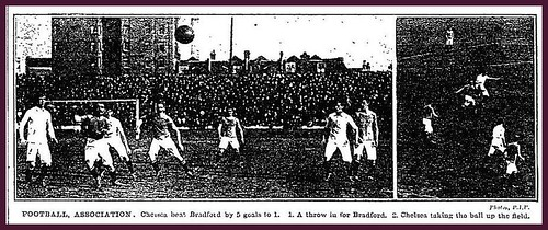 15th September 1906 - Chelsea 5 v Bradford City 1 | by Bradford Timeline