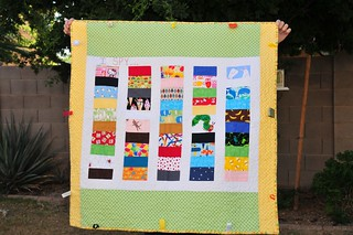 "Baby ""I Spy"" Quilt 