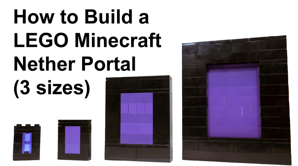 LEGO Minecraft Nether Portal | Watch the video: www.youtube.… | Flickr
