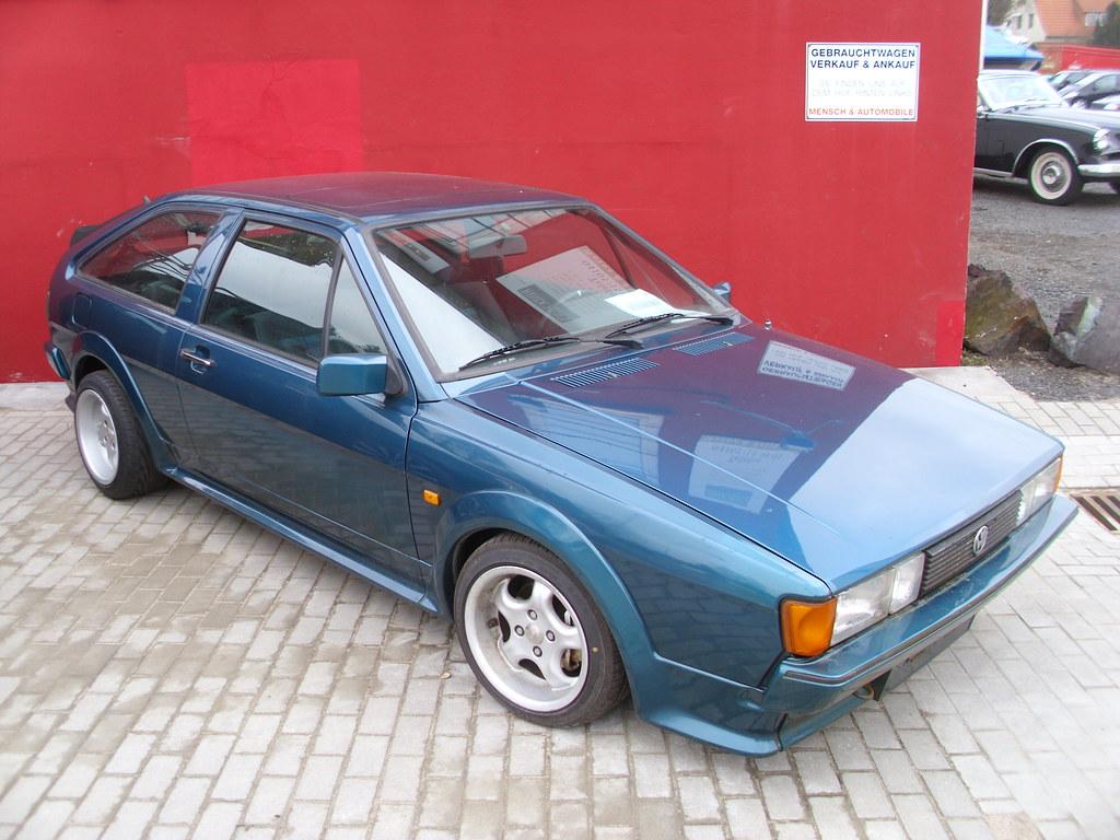 VW Scirocco II GT 1989 92