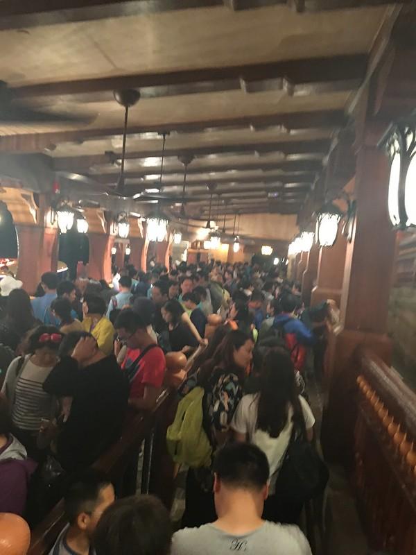 Long Lines at Shanghai Disneyland