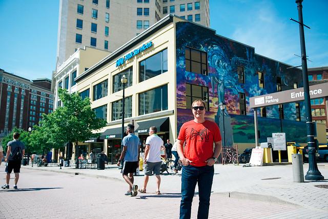 Marcelo Lehninger visits Festival of the Arts in Grand Rapids