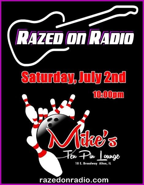 Razed On Radio 7-2-16