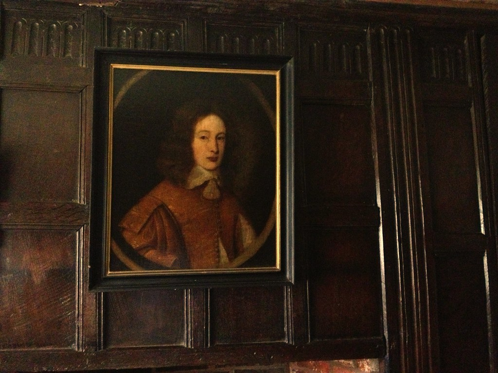 moseley old hall oil painting above a fireplace said t u2026 flickr