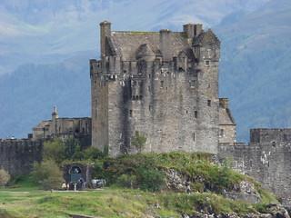 084 Uitizcht op  Eilean Donan Castle