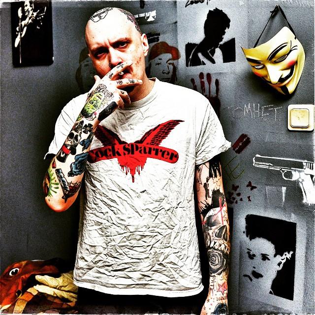 Old school skinhead tattoos