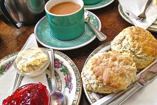 The Willow Tree Cream tea! | by Jainbow