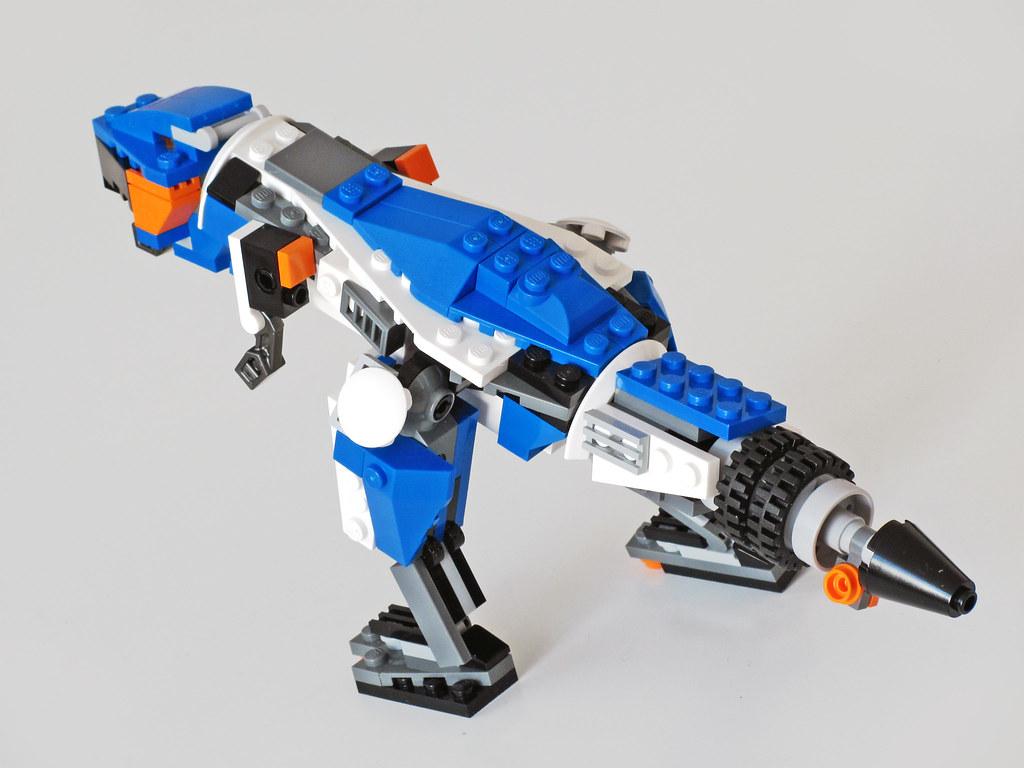 T Rex Back Alternate Of Creator Set 31008 Thunder Wings