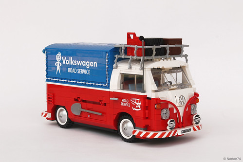 "VOLKSWAGEN T1 ""ROAD SERVICE"" – ""CANVAS"" PICK-UP 