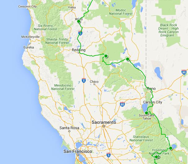 Etapa 9b - California norte