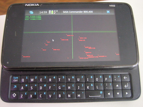 SASA Commander on the N900 | by Travis Goodspeed