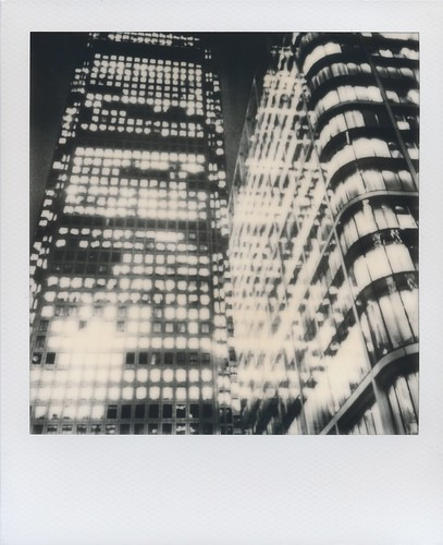 Canary Wharf - Impossible Project Instant Lab test unit | by jakem