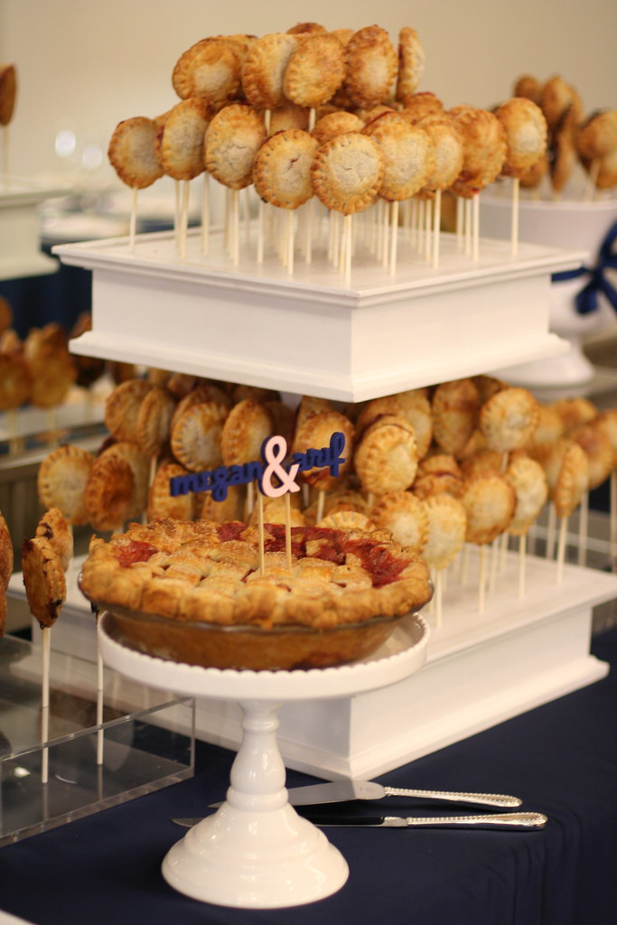 Wedding Pie Pops Pie A Beautiful Way To Display Your Pie Flickr Impressive Pie Display Stand