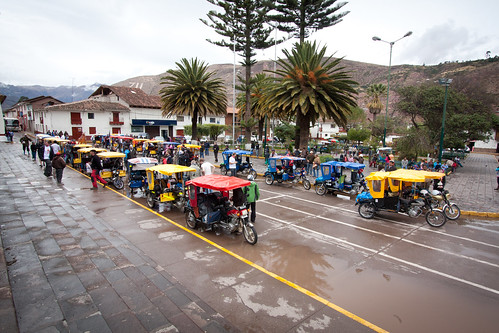Start Line Urubamba Town Square | by marksteelenz