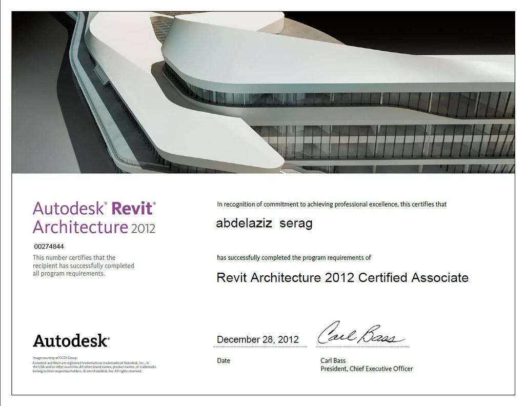 Autodesk Associate Certification Abdelaziz Serag Rasheedi Flickr