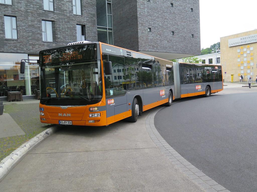EVM bus 356 Koblenz Hbf EVM Local transport Koblenz bus a Flickr