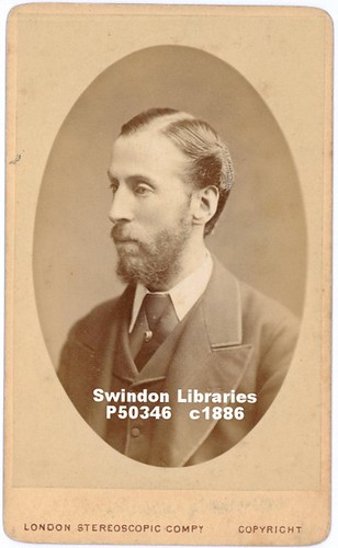 c1880s: Could this be the last photograph of Richard Jefferies? (CDV) | by Local Studies, Swindon Central Library