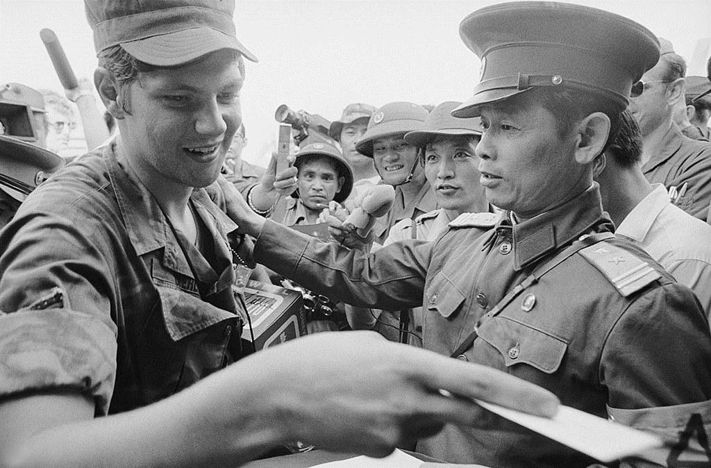 North Vietnamese Lieutenant Colonel Bui Tin North Vietname Flickr