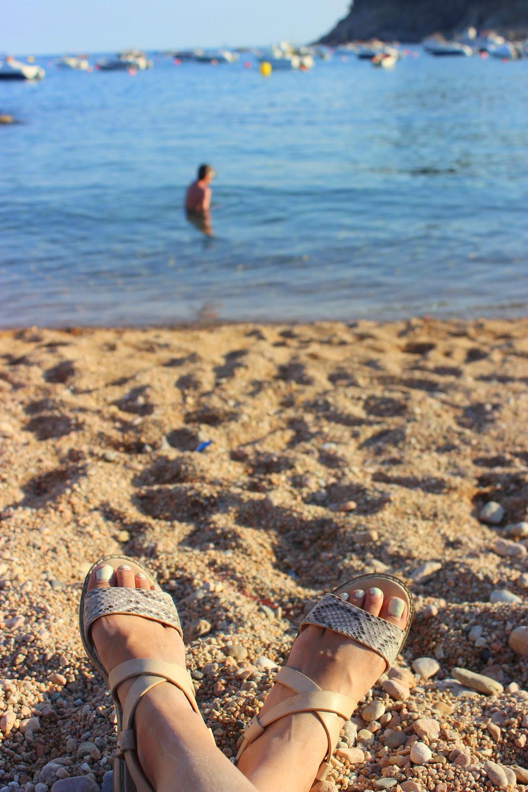 topshop nude sandals