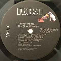 THE BLOW MONKEYS:ANIMAL MAGIC(LABEL SIDE-A)