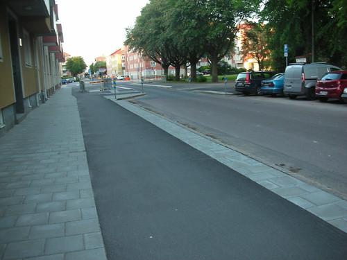 Traffic Calming next to a School in Gavle
