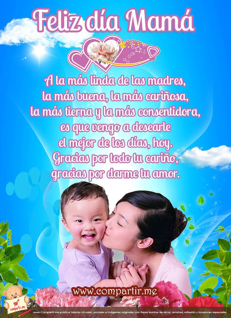 Frases De Amor Tarjeta Con Mensaje Bonita Para Mama En Su Flickr